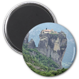 Monastery in Meteora, Greece Europe Refrigerator Magnets