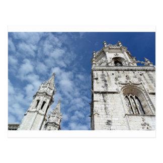 Monastery of Hieronymites, Lisbon, Portugal Postcard