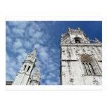 Monastery of Jeronimos, Lisbon, Portugal Cartao Postal