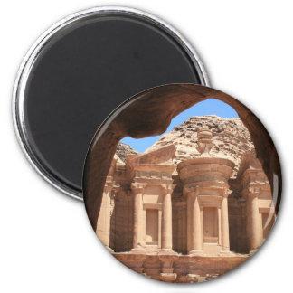 monastery petra magnet