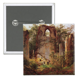 Monastery Ruins at Eldena by Friedrich Pin