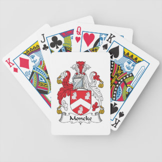 Moncke Family Crest Bicycle Card Decks