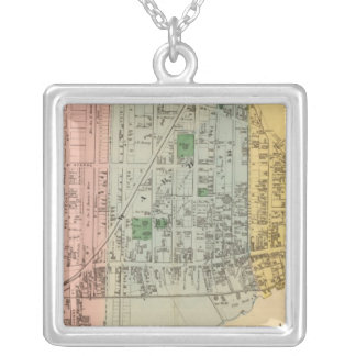 Moncton NB Silver Plated Necklace