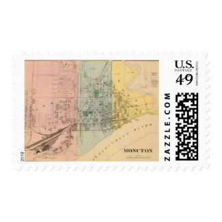 Moncton NB Stamps