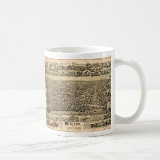 Moncton New Brunswick Canada (1888) Coffee Mug