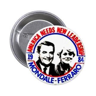 Mondale-Ferraro - Button