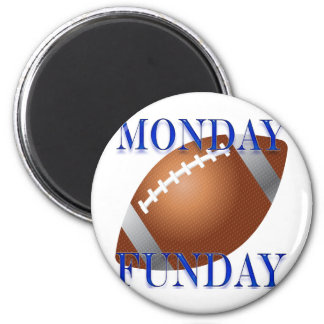 Monday and Sunday night Football Magnet