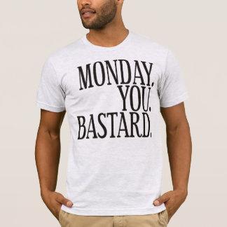Monday - black T-Shirt