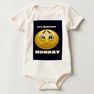 Monday Blues Baby Bodysuit