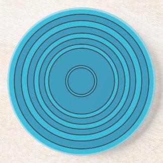 Monday Blues Sandstone Coaster