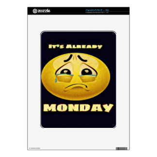 Monday Blues Skins For The iPad
