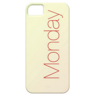 Monday iPhone 5 Cover