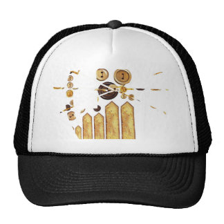 Monday Cat Trucker Hat