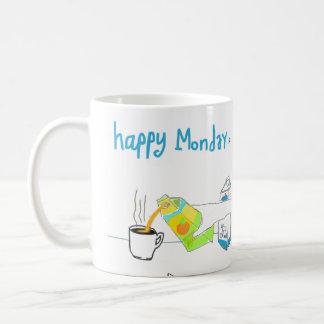 Monday Comic 2 Classic White Coffee Mug