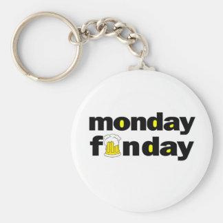 Monday Funday Keychain
