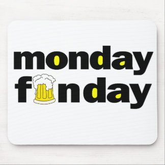 Monday Funday Mouse Pad