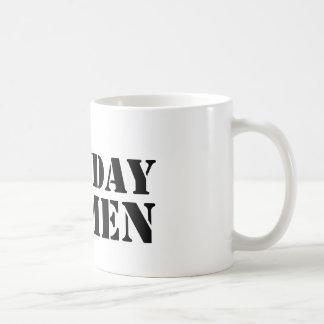Monday Men logo mug