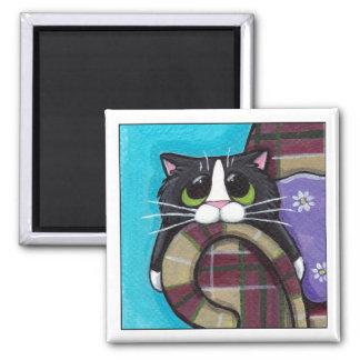 Monday Morning Blues - Cat Magnet