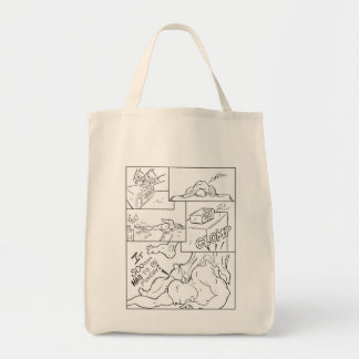Monday Morning - The Incredible Unmarked Man Canvas Bag