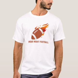 Monday Night Football Black  T-shirts