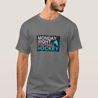 Monday Night HOCKEY - bold T-Shirt