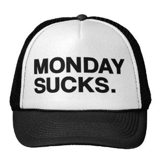 Monday sucks trucker hat