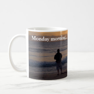 Monday sunrise coffee mug