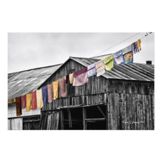 Monday Wash Photo Print