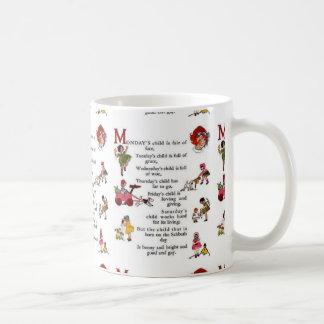 Monday's Child Coffee Mug