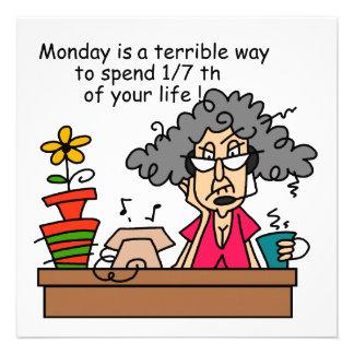 Mondays Humor Personalized Invitation