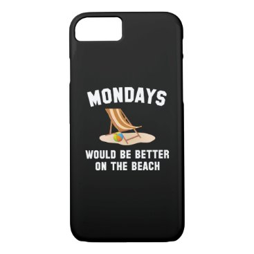 Beach Themed Mondays On The Beach iPhone 7 Case
