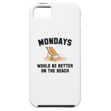 Beach Themed Mondays On The Beach iPhone SE/5/5s Case
