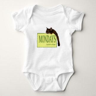 Mondays Should Be Illegal Baby Bodysuit