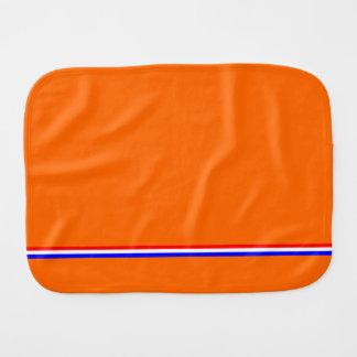 Monddoekje Oranje resolvió cruz-ingenio-blauw del  Paños Para Bebé