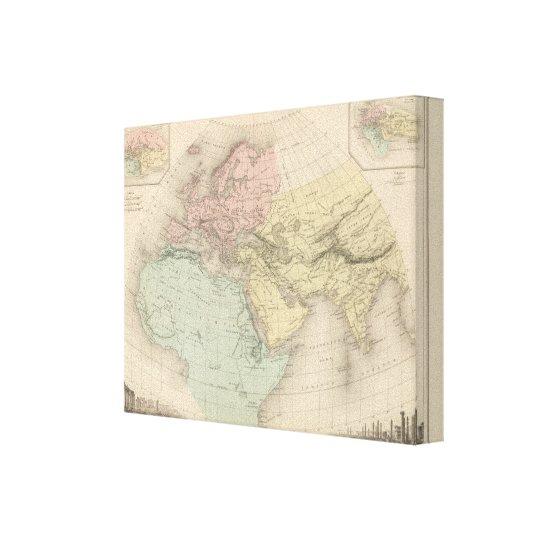 Monde Connu Des Anciens Canvas Print