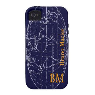 monde personalizable Case-Mate iPhone 4 fundas