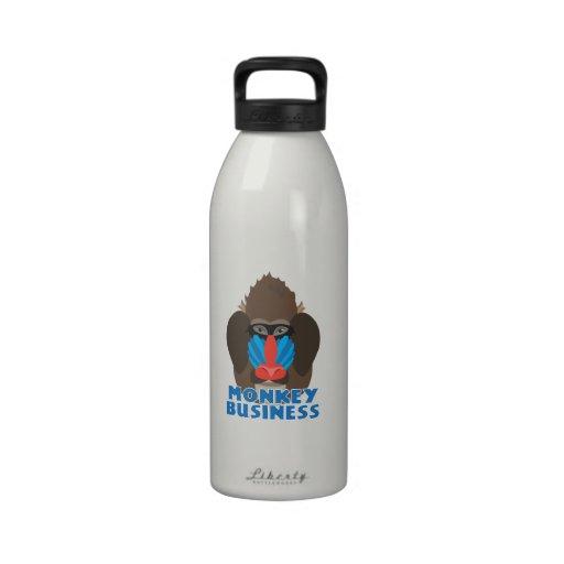 Mondey Business Drinking Bottle