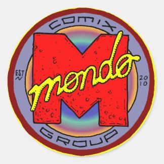 Mondo Mini Stickers