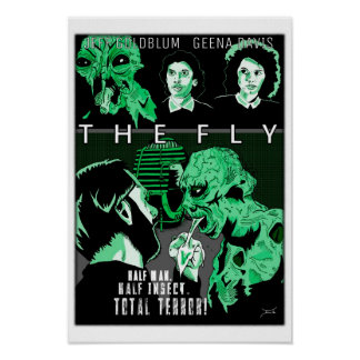 """MONDO-STYLE """"THE FLY"""" art/poster Poster"""