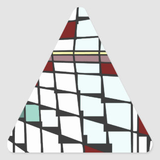 mondorianshitei 2 triangle sticker