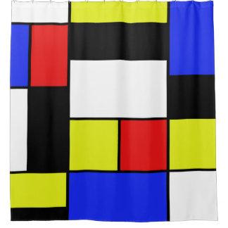Mondriaan #20 shower curtain