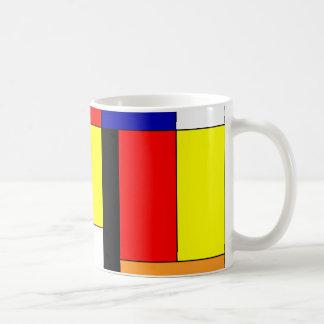 Mondriaan #9 coffee mug