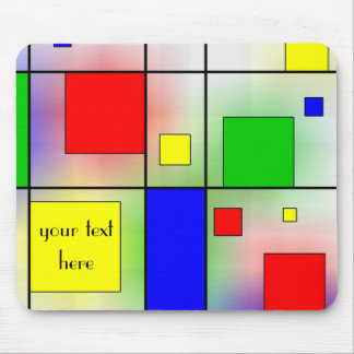 Mondriaan Style Mousepad