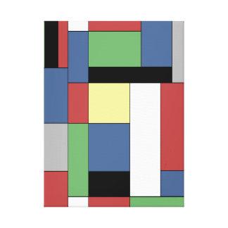 Mondrian #11 canvas print