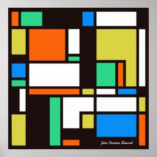 Mondrian 1 poster