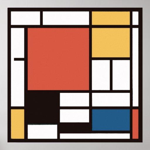 Mondrian 2 póster