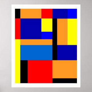 Mondrian #35 poster