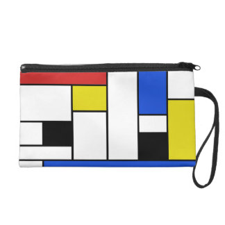 Mondrian alinea el mitón