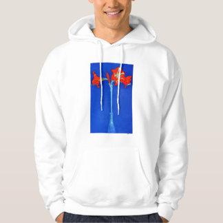 Mondrian Amaryllis Hoodie