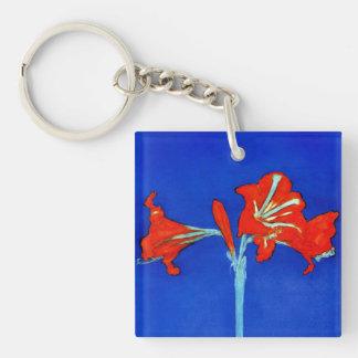 Mondrian Amaryllis Key Chain